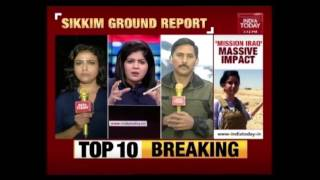 India Today brings to you exclusive ground report from Sikkim on the India China border standoff. War of words between both India and China escalates as the ...