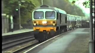 Midgham United Kingdom  city images : BR Class 59 59002 Yeomans Midgham 1986