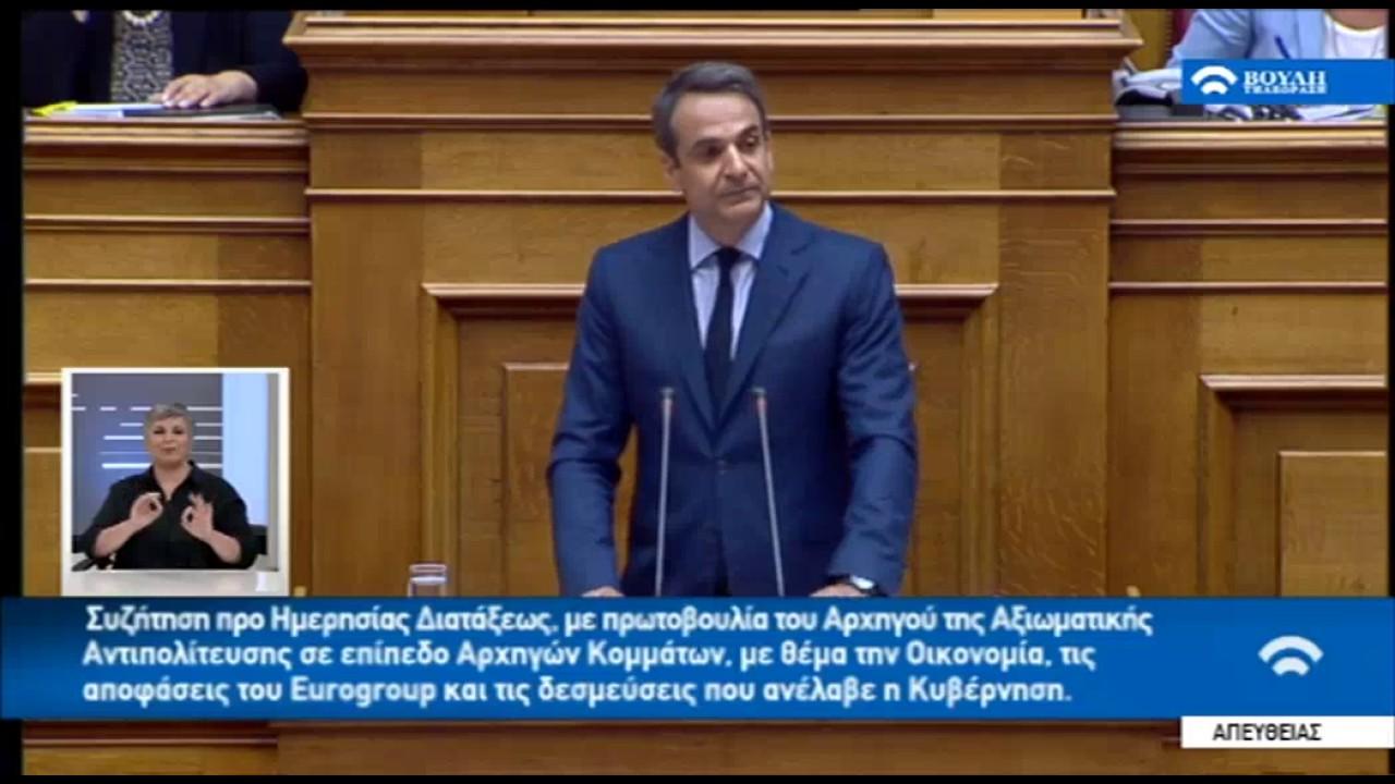 Κυρ. Μητσοτάκης: Πολιτική παράκρουση και θεσμική εκτροπή