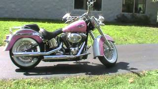 4. 2007 Harley Davidson Softail Deluxe For Sale Road Track and Trail Big Bend WI
