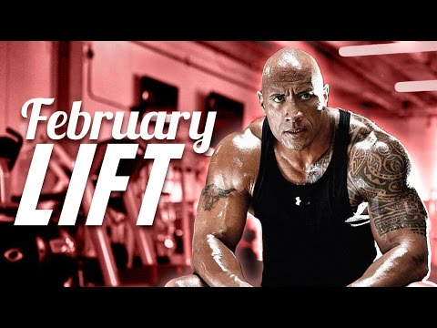 FEBRUARY LIFT - The Rock on set of