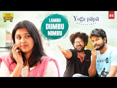 Lambu Dumbu Nimbu - Yoga Paapa - Epsiode #4 || New Comedy Web Series || Lol Ok Please
