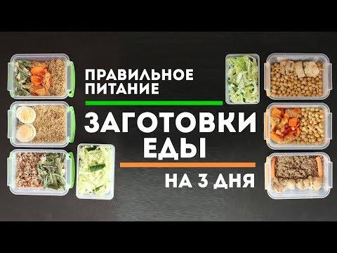 Простые и быстрые рецепты правильного питания