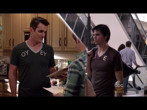 Modern Family V Neck T Shirts - Recap - Episode 1 S7