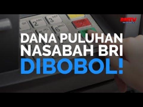 Dana Puluhan Nasabah BRI Dibobol!
