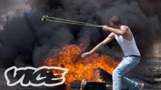 Palestinian Protest Turns Violent