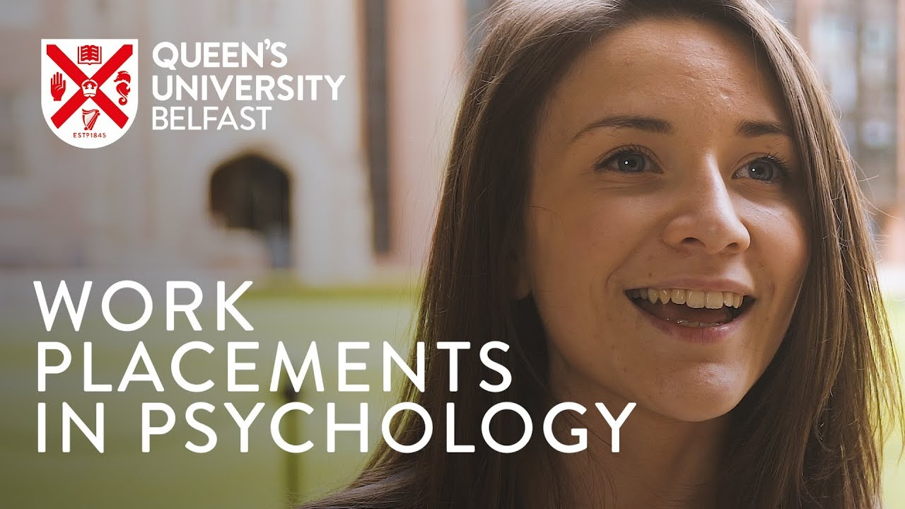 Video Thumbnail: Work Placements in Psychology