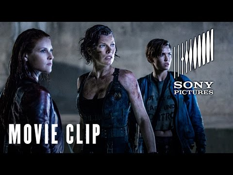 Resident Evil: The Final Chapter (Clip 'The Hive')