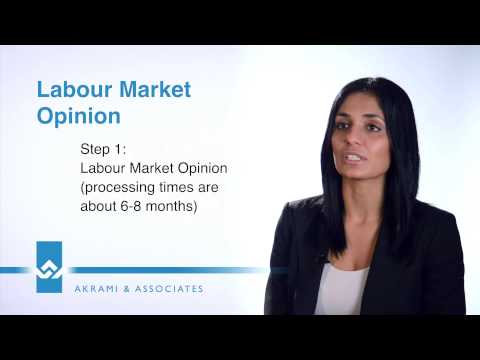 Labour Market Opinion LMO Video