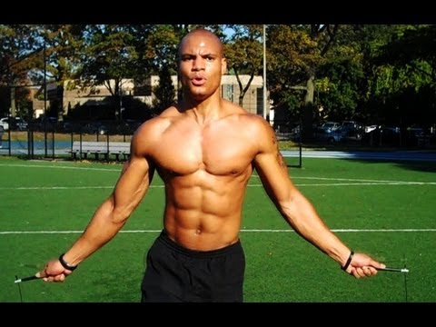 How To Burn Fat Fast With JUMP ROPE HIIT Cardio (Brandon Carter)