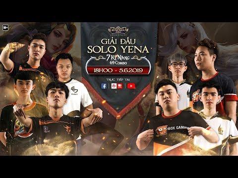 Giải đấu Solo Yena - 7 kỹ năng 69 combo - Garena Liên Quân Mobile - Thời lượng: 3:07:02.