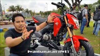 9. Kawasaki Z125 Pro review fisik [HD]