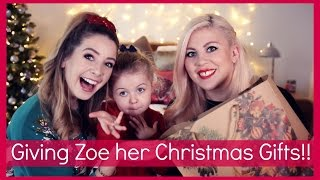 Video Giving Zoe Her Christmas Presents!! MP3, 3GP, MP4, WEBM, AVI, FLV Desember 2018