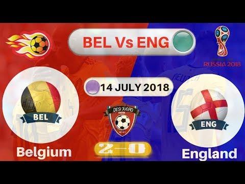 Belgium vs England 2-0 All Goals & Highlights : World Cup Russia (2018)