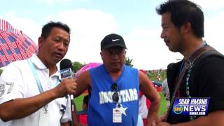 Suab Hmong News:  Top Spin (Tuj Lub) Competition at 2014 Hmong Freedom Celebration