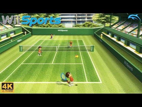 Wii Sports - Wii Gameplay 4k 2160p (DOLPHIN)