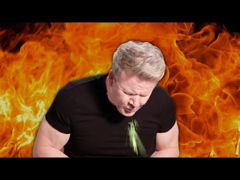 10 Times Gordon Ramsay Got VERY SICK (Spits Out Food)!