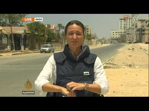 Army - Stefanie Dekker reports on the impact of the continuing airstrikes in the Gaza strip and Kim Vinnell from West Jerusalem with the latest on the missing Israeli soldier. Subscribe: http://bit.ly/AJS...