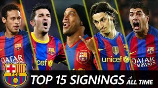 Video FC Barcelona Top 15 Biggest signings of All time | Neymar, Suarez, Ronaldinho... MP3, 3GP, MP4, WEBM, AVI, FLV September 2017