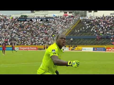 El Nacional 2:1 LDU Quito (видео)