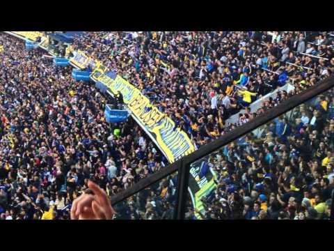 Video - GOL DE BANFIELD Y EXPLOTA LA BOMBONERA / Boca campeon 2015 - La 12 - Boca Juniors - Argentina
