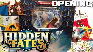MORE SHINY GOODNESS - Opening a Gyarados Hidden Fates Tin of Pokemon Cards! by Flammable Lizard