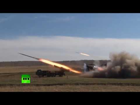 Rusya füzelerini test ediyor