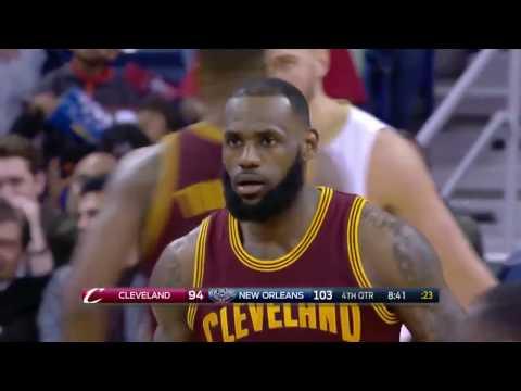 LeBron James 26 Pts   Highlights  Cavaliers vs Pelicans  Jan 23 2017
