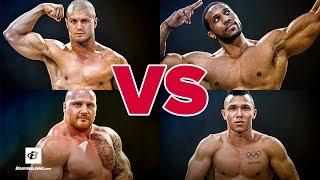Video Weightlifter vs Powerlifter vs Bodybuilder vs CrossFit Athlete | Brute Showdown: Episode 1 MP3, 3GP, MP4, WEBM, AVI, FLV November 2018