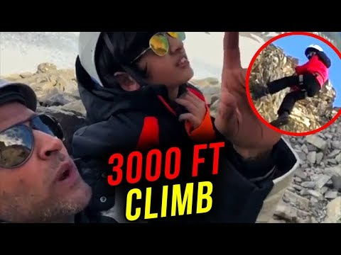 Hrithik Roshan With Kids Climb 3000 Ft Glacier In