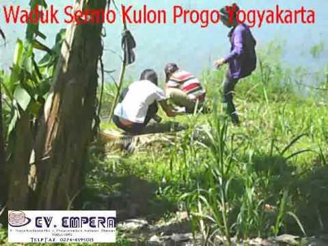 Waduk Sermo Mancing Edison Sekeluarga