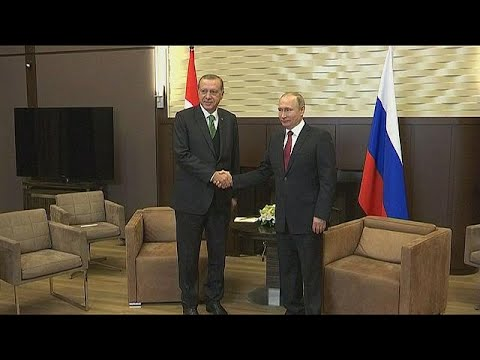Συνάντηση Πούτιν-Ερντογάν στο Σότσι