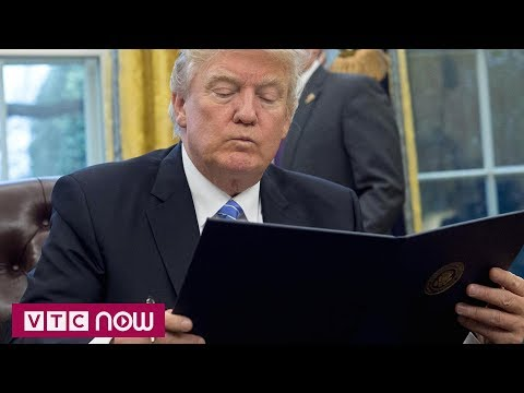 Ông Trump để ngỏ khả năng quay lại TPP | VTC1 - Thời lượng: 50 giây.