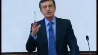 OSMAN PAMUKOĞLU konferans istanbul universitesi bolum 1