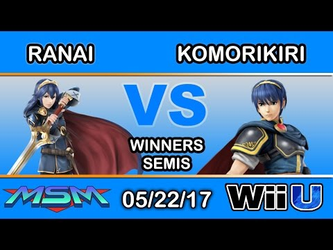 MSM 98 - Ranai (Lucina) Vs. 2GG | komorikiri (Marth) Winners Semis - Smash Wii U