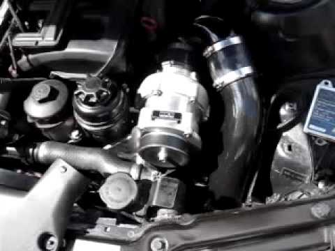 E46 323i AA HKS Supercharger