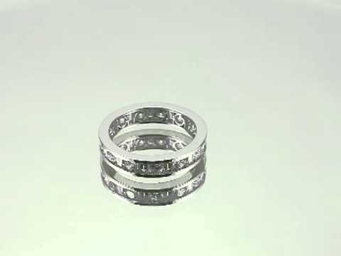 925 Sterling silver Wedding Band.