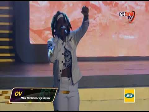 Hitmaker Season 7  Ov Performs Stonebwoy's Run Go