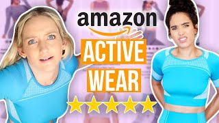 Guessing 1 vs 5 Star Athleisure from Amazon! by Clevver Style
