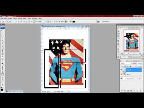 Dividindo uma imagem no Photoshop