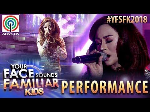 Your Face Sounds Familiar Kids 2018: Sheena Belarmino as Jessa Zaragoza   Bakit Pa (видео)
