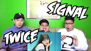 Video TWICE - SIGNAL MV REACTION (FUNNY FANBOYS) MP3, 3GP, MP4, WEBM, AVI, FLV Oktober 2017