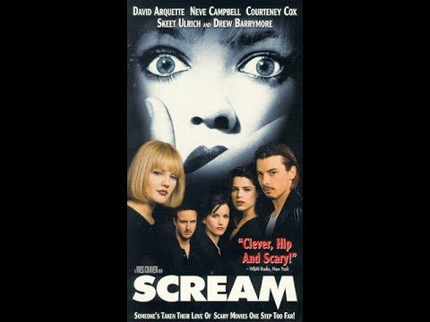Opening And Closing To Scream 1997 VHS(2018 Halloween Reupload)