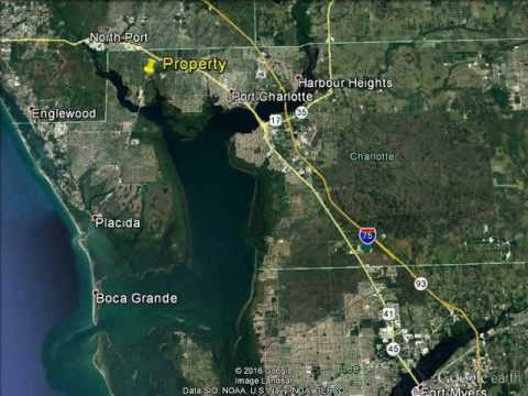 .46 Acre Double Canal Front Lot, Buy One or Both, Port Charlotte, FL, Easy Access to Myakka River