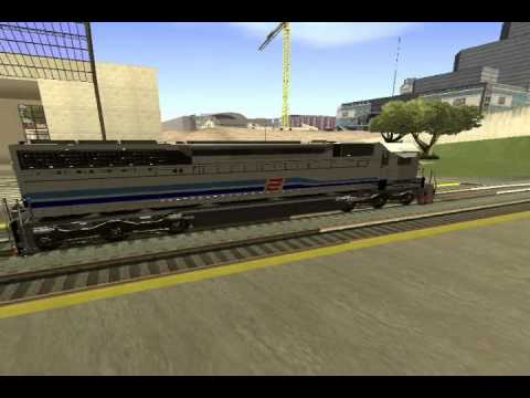 RailWay :CC201 semboyan35, 41, Genta in GTA San Andreas