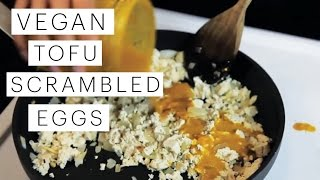 Vegan Tofu Scramble | The Edgy Veg