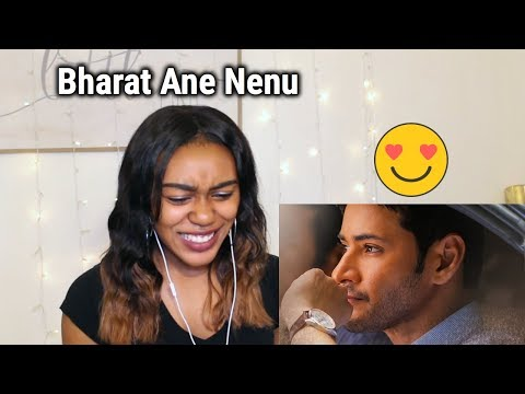 The Journey of Bharat | Mahesh Babu | Bharat Ane Nenu Trailer | REACTION!!