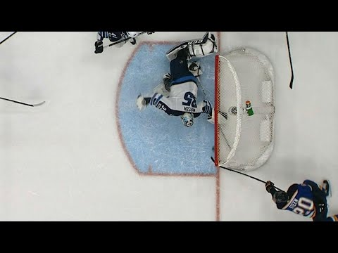Video: Gotta See It: Jets' Mason lays down the paddle to rob Steen