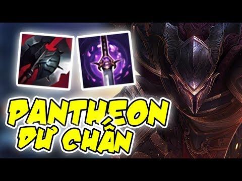 Hà Tiều Phu | PANTHEON SIÊU CHỐNG CHỊU ĐẨY ĐƯỜNG VỚI NGỌC DƯ CHẤN - League Of Legends - Thời lượng: 10 phút.