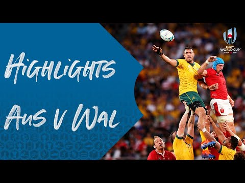 HIGHLIGHTS: Australia v Wales - Rugby World Cup 2019